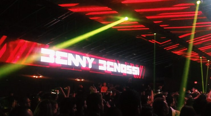 Benny Benassi Makes His Satisfying Debut at Insomniac's Academy LA