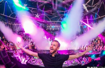 "Calvin Harris Discusses Spending ""All"" His Residency Money on Features"