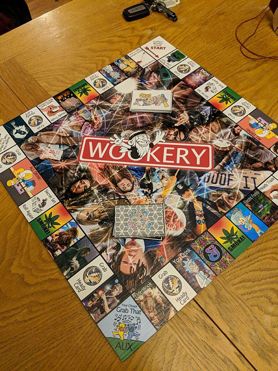 This Fan Made Wook-Monopoly Is Sold Out For Good Reason