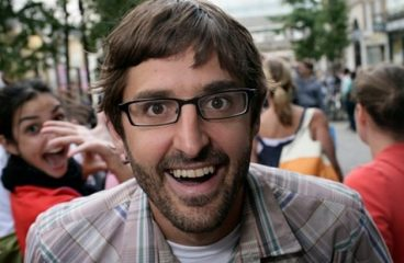 A Louis Theroux club tour called We Gotta Get Theroux This is hitting the UK