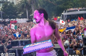 Vin Diesel Nailing Steve Aoki In The Face With A Cake Is Something You Need To See
