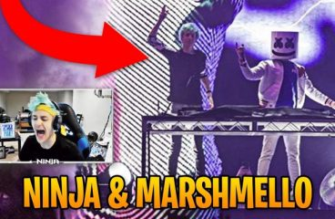 Marshmello Teams with Ninja In $1 Million Fortnite Celebrity Showdown