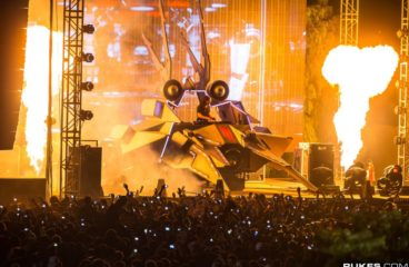 WATCH: Skrillex's EPIC Mothership Tour At Red Rocks from Exactly 4 Years Ago