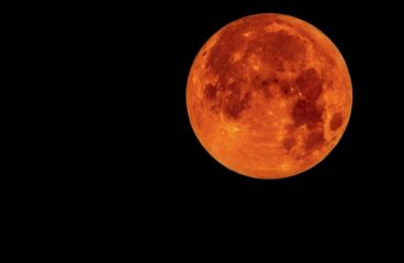 Historic Blood Moon Will Be Visible from Tomorrowland
