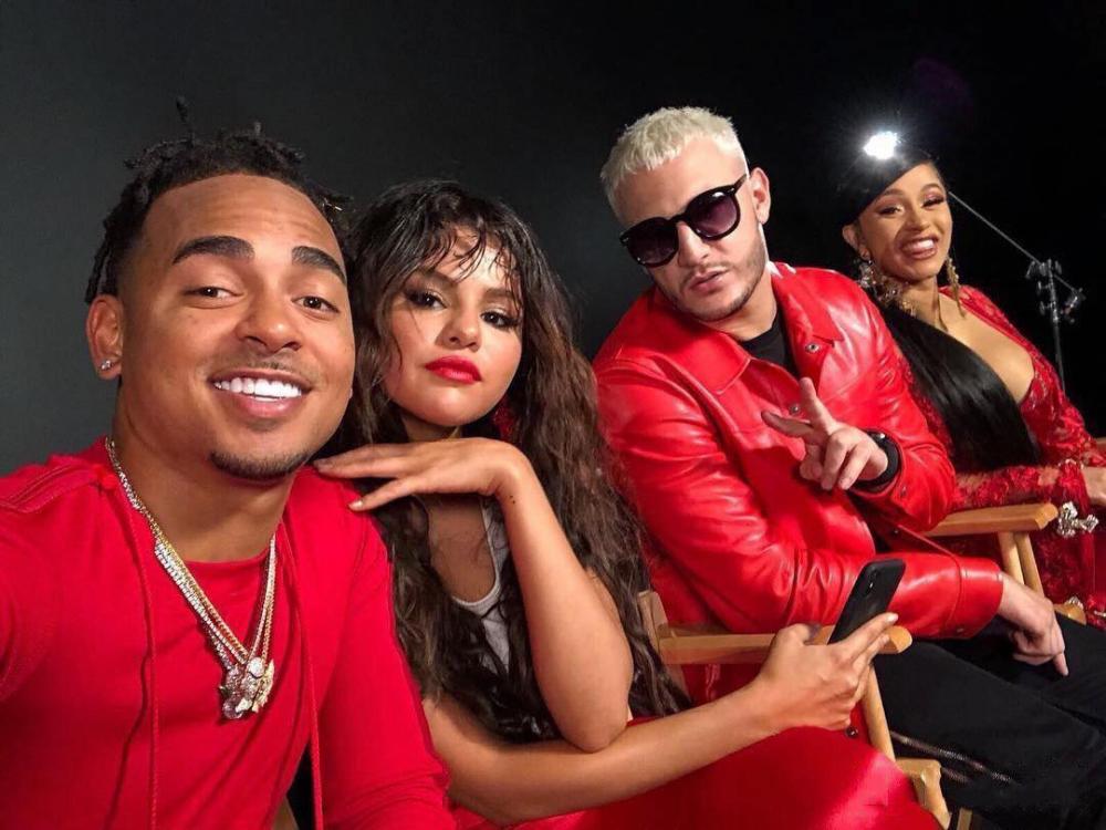Cardi B Teases New Music Gets A Huge Back Tattoo: DJ Snake, Selena Gomez, Cardi B & Ozuna Tease New Song