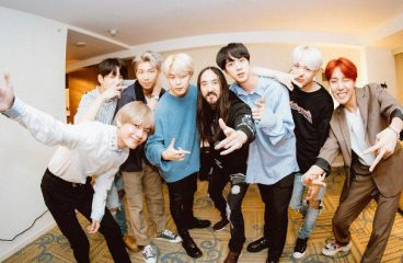 """Steve Aoki and BTS receive the gold certification for the """"Mic Drop"""" remix!"""