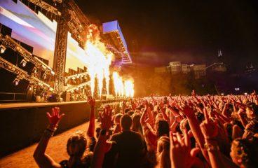 WATCH: Valentino Khan, Malaa, Rusko & Post Malone Live from Lollapalooza