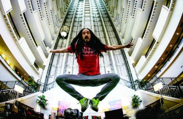 Steve Aoki is now Featured within the Smithsonian's American Culture Wing