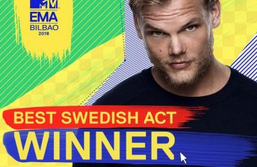 Avicii Wins MTV EMA for Best Swedish Act