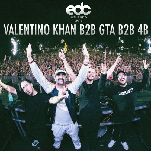 Listen To Valentino Khan, GTA And 4B Play B2B At EDC Orlando