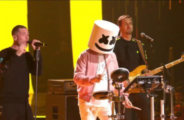 Marshmello Takes Home The Win For Best Electronic Category At EMAs