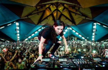 Video Footage Shows Woman Suing Skrillex Was Smiling After Incident