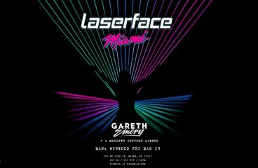 Laserface by Gareth Emery Hits Miami Music Week!
