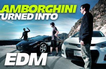 Virtual Riot Turns A Lamborghini Into An EDM Track