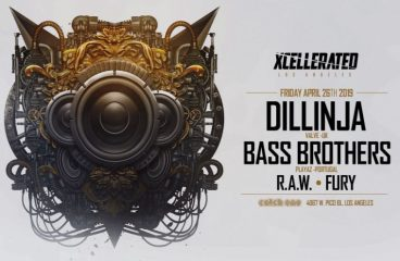 Legend Alert: Xcellerated to Host Dillinja, Bass Brothers, Fury and RAW in One Show, Not to Mention the Dubstep Lineup