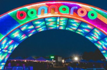 Bonnaroo's Iconic Arch Intentionally Burned Down Ahead of 2019 Event
