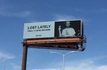 San Holo Announces New Song With Las Vegas Billboard
