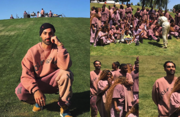 This Guy Danced His Way Into Kanye's Sunday Service Performance At Coachella