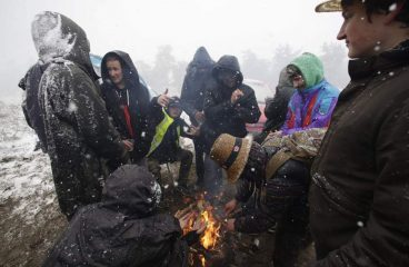 Teknival Attendees Treated for Hypothermia as Severe Weather Hits