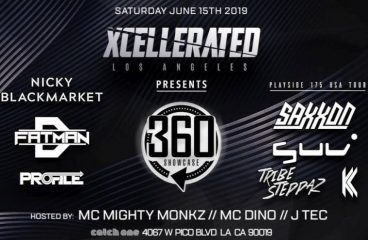 Jungle Legends and a UK Upstart Descend on LA's Bass Scene at Xcellerated Saturday, 6/15