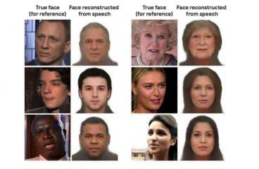 Speech2Face AI Generates Faces Using Their Voice