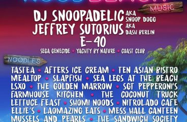 Jeffrey Sutorius and Snoop Dogg Headline Foodbeast's Nood Beach Food and Music Festival [Event Preview]
