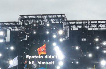 ATLiens Flash Epstein Meme at EDC Orlando