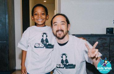 Steve Aoki Grants 6-Year-Old's Wish with the Ultimate Play Date