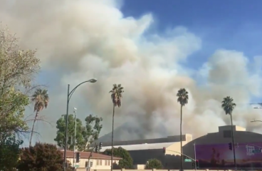 Warner Bros Studios Evacuated Due To Rapidly Growing Wildfire