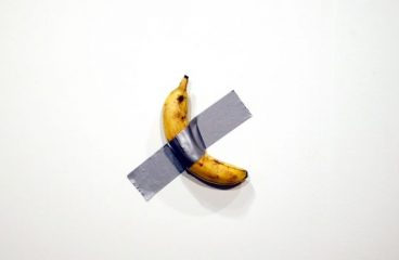 A Visual Artist Ate that $120,000 Art Basel Banana