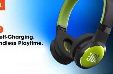 JBL Crowdfunds for Solar-Powered Headphones