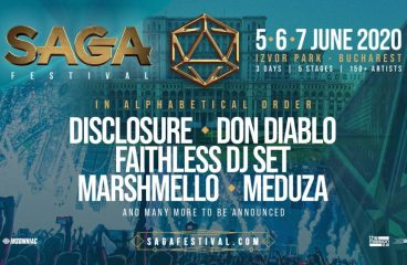 Phase 1 Lineup Released for Brand New SAGA Festival