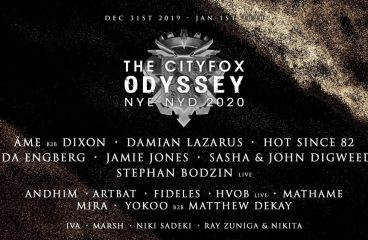 Spend New Year's Eve & Day 2020 at the 27-Hour Cityfox Odyssey Party in Brooklyn, New York