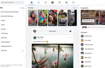 New Facebook Layout Begins Rollout to Users