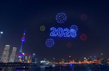 Shanghai Ditches Fireworks for Massive Drone Light Show on NYE
