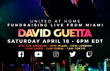 David Guetta To Stream Live Performance In Support Of COVID-19 Relief