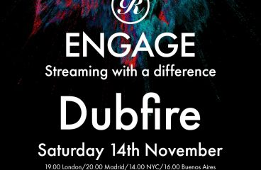 Dubfire steps up to deliver a stream with a difference with his eclectic Renaissance Engage Mix on Sat 14 November !
