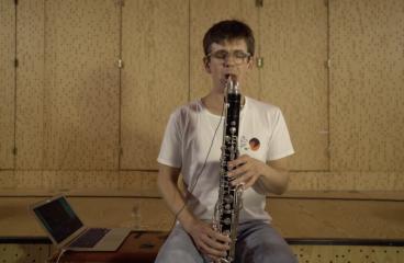 EDMjunkies & SHAPE Wrap Up: Watch a Hypnotic Bass Clarinet Performance by Ben Bertrand