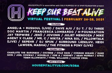 Listed and Housepitality Join Forces for All-Weekend Virtual Festival