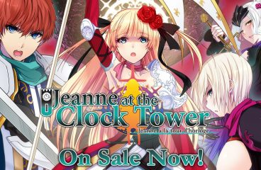 Jeanne At The Clock Tower––Now Available!