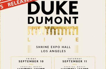 [EVENT REVIEW] Duke Dumont Makes Triumphant Return to the LA Shrine