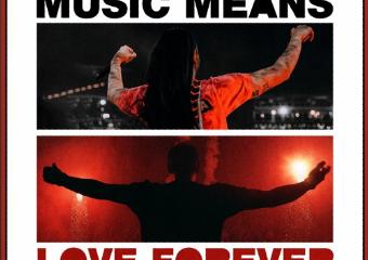 Armin van Buuren & Steve Aoki Link Up For  'Music Means Love Forever'