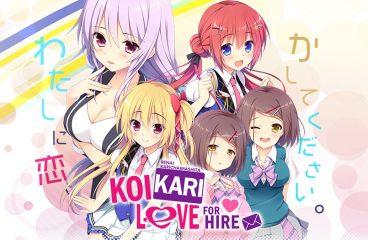 Koikari – Love for Hire from Nekonyan Now Available on MangaGamer!